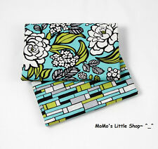 Beautiful Vera Bradley 100% Cotton Fabric(Island Blooms)—2 Matching Fat Quarters