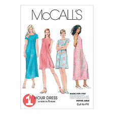 McCall's 6102 Sewing Pattern to MAKE Easy Pullover Summer Dresses