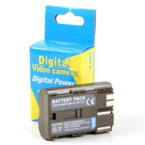 3x Batería Intensilo 1140mAh para CANON EOS 600D 600 D 600-D ACCU