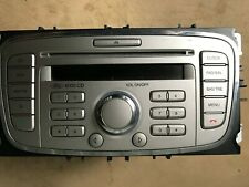 Ford 6000 Radio CD Player 06-14 Focus/Mondeo/S-Max 7S7T-18C815-BA Código