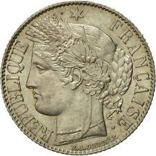 [#455072] Monnaie, France, Cérès, Franc, 1888, Paris, SUP+, Argent,KM 822.1