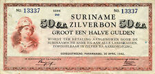 Suriname P-104 50 cent 1942 VF