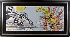 """ROY LICHTENSTEIN """"WHAAM!"""" 1967 SIGNED PRINT HIGHLY COVETED IMAGE RETAIL $80,000"""