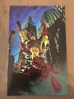 Daredevil #602 Unknown Comics Perkings Deadpool Virgin Exclusive Ltd to 1000