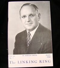 Magicians Magazine Adrian Smith Linking Ring July 1948