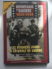 REPORTAGES DE GUERRE 1939 -1945 .. HORS SERIE  .. LA DROLE DE GUERRE 1940