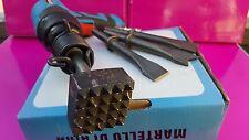Bocciarda  con denti  4cmx 4cm con pistola ad aria
