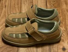 Orthofeet Sarasota Beach Women's Shoes Tan Comfort Walking Size 9 - 872