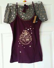 Harry Potter Ladies Girls Cami Vest & Shorts Pyjamas Set Primark UK14-16 BNWT
