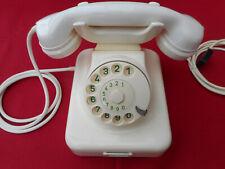 ALTES BAKELIT TELEFON   W48 / 49 +  Hagenuk + 1957 +  Wählscheibe + restauriert