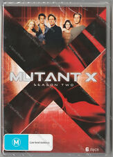 Mutant X Season Two 2 DVD 6 Disc Set Brand New Factory Sealed M rated Reg 4 PAL