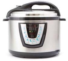 NEW Harvest Cookware Pressure Pro 10-quart Pressure Cooker Stainless Steel Black