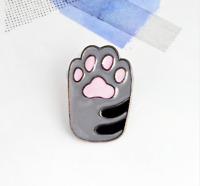 Sweet Cat Paw Toe Beans Enamel Pin Badge Bag Kitty Cat Lover Paw Brooch Paw