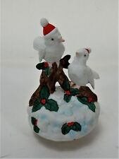 "Vintage Snowbirds Musical Music Box ""Deck the Halls"" Christmas  (Watch Video)"