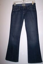 Paige Laurel Canyon Jeans 27 Boot Cut Stretch Sexy Luxurious Pants 28 X 29.5