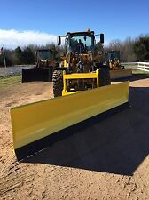 New 14' Super Duty, Hydro-Turn, Wheel Loader Snowplow For John Deere, Jrb, Volvo