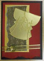 Small Blank Kimono rubber stamp - Wood Mounted by JudiKins
