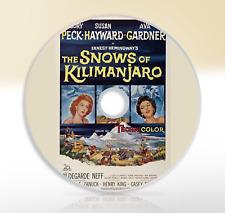 The Snows Of Kilimanjaro (1952) DVD Classic Adventure Movie / Film Gregory Peck