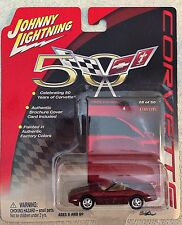 Johnny Lightning 1988 CHEVY CORVETTE 28 OF 50 50 YEAR EDITION - 1/64