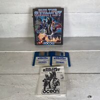 Run The Gauntlet Amiga Game By Ocean 1989 Tested & Working Big Box