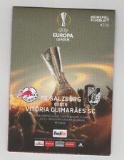 Orig.PRG   Europa League 2017/18  RED BULL SALZBURG - VITORIA GUIMARAES SC  !!