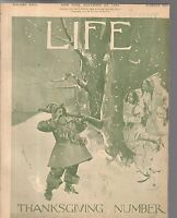 1894 Life November 22-Democrats blame each other; Cornell begins football;Uncle