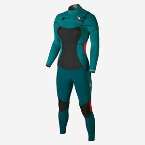 New $380 Women's Hurley Phantom 202 Full Suit Wetsuit green Size 8
