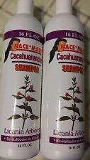 2 Shampoo Nace Mass Cacahuananche Licania Arborea 16 fl oz  Hair Revitalized