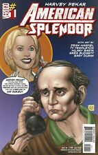 HARVEY PEKAR AMERICAN SPLENDOR NOV 2006 #1 VERTIGO WITH SIGNED CRUMB ART CARD