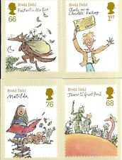 GB 2012 Roald Dahl PHQ cards unused