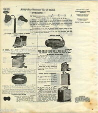 1916 ADVERT US United States Standard Dynamite Blasting Machine Pull Up Dupont
