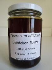 Dandelion Flower Syrup Sirup Honey Taraxacum officinale 500ml (16 fl oz) 西洋蒲公英糖漿