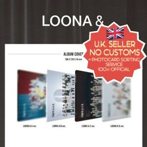 Loona 4th Mini Album AND[&] New Official Pre Order CD UK Seller (Choose Version)