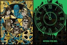 WATCHMEN NOTHING EVER ENDS ANTHONY PETRIE Limited edition print 100 Glow in dark