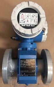 "*NEW*UNUSED*Endress Hauser Pro Mag 50 Flow Meter 50W50 LA0A1AA0AAAA 6.5"" FLANGE"