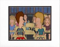 Beavis and Butthead Production Animation Cel MTV 1993-1997 with COA and Seal 11