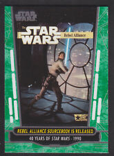 Topps Star Wars - 40th Anniversary - Green Parallel Card # 74