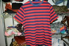New listing 70s 80s Single Stitch vtg Homemade Surfing Striped t shirt Large 50/50 Thin