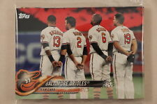 2018 Topps Series 1 and 2 Complete Team Set - PRE-SELL - Baltimore Orioles