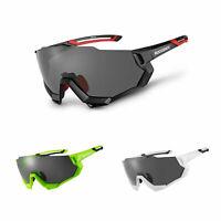 ROCKBROS Polarized Cycling Photochromic Glasses Bike Sunglasses Eyewere Goggles