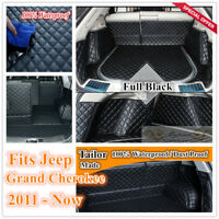 Custom Made Car Boot Cargo Mats Wheel Arches Cover Liner for Jeep Grand Cherokee