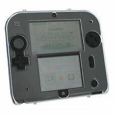 ZedLabz Crystal Case for Nintendo 2ds - Polycarbonate Plastic Hard Cover Shell