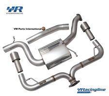 VW Golf MK6 R VWR Volkswagen Racing Racingline Double Exit Rear Exhaust