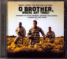 O BROTHER, WHERE ART THOU? Coen Brothers Soundtrack CD Soggy Bottom Alison Kraus