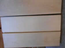 3- Basswood Craft Wood Blanks Duck Turning  Resaw Carving