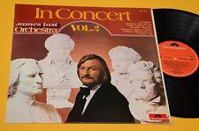 JAMES LAST LP 1° ST ORIG ITALY 1975 EX IN CONCERT VOL 2 !!!