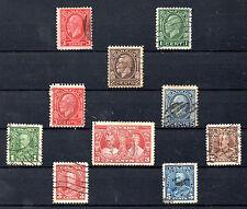 Canada Monarquias Valores del año 1932-35 (AW-319)