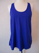 Small Ideology Purple Long Length Tennis Golf Yoga Running Sport Shirt Tank Top