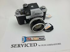 New listing Nikon F early Photomic With Nikkor S Auto 1:1.4 50Mm Lens