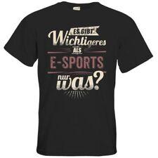 Bequem sitzende unifarbene Herren-Sport-T-Shirts